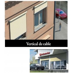 TOLDO VERTICAL GUIADO DE CABLE